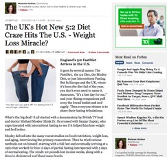 5:2 Diet in Forbes review